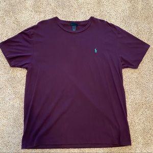 Men's size large purple Polo tshirt